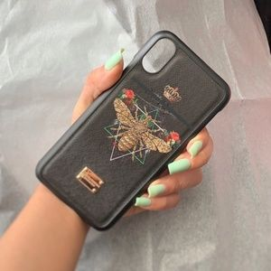 NEW iPhone X /XS /XS MAX Honey Bee Hard Case